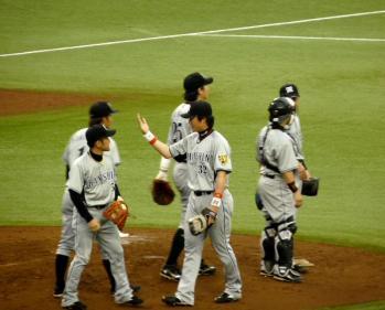 絵日記6・30西武勝ち1