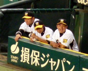 絵日記7・25横浜戦ベンチ5