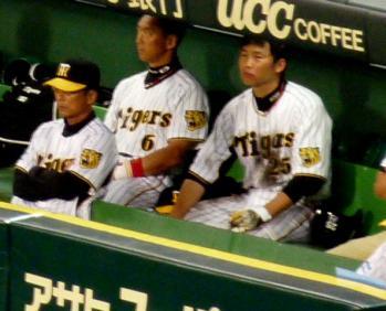 絵日記7・25横浜戦ベンチ1
