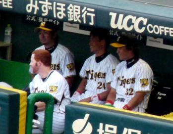 絵日記8・19横浜ベンチ2