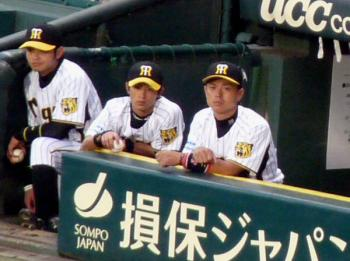 絵日記8・19横浜ベンチ6