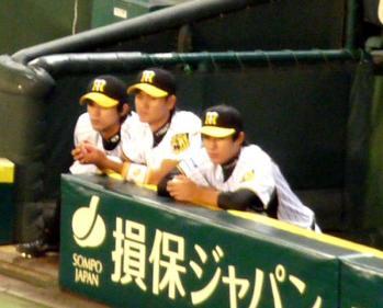 絵日記9・21広島ベンチ3