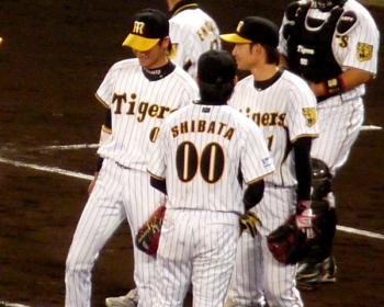 絵日記10・17中日勝利4