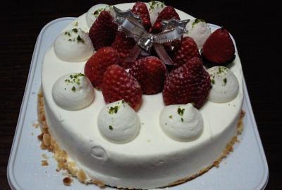 12月23日ケーキ2