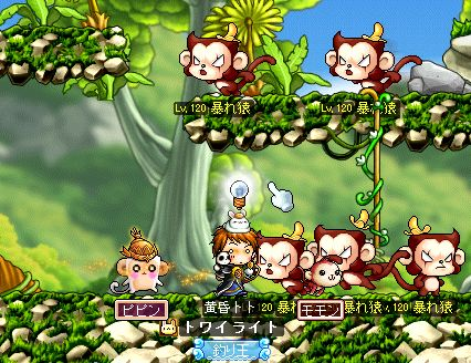お猿さん天国