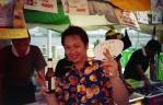 タイ・フェスで再会したトンちゃん