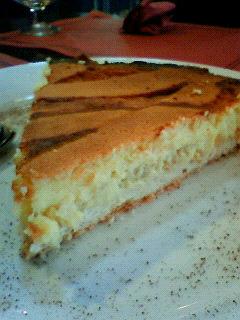 イタリア料理チーズケーキ