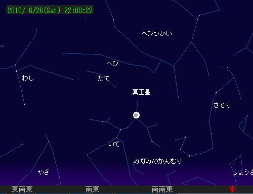 2010 6 26 部分月食星図4