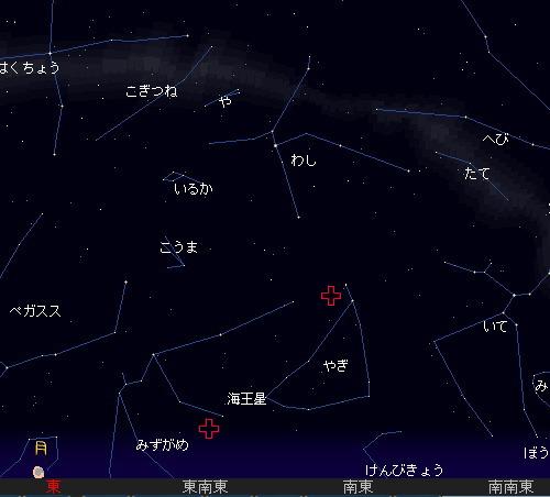 2010 7 30 夏の夜空と流星群21星図