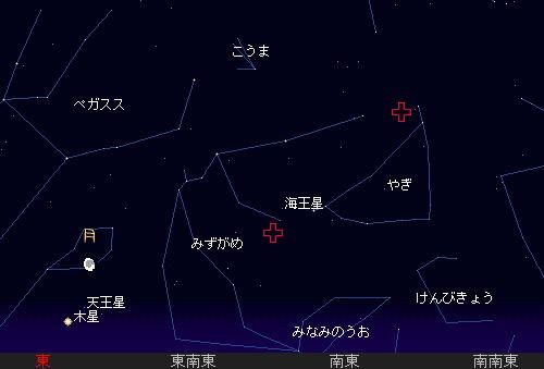 2010 7 30 夏の夜空と流星群22星図