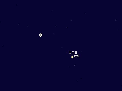 2010 9 23 満月星図