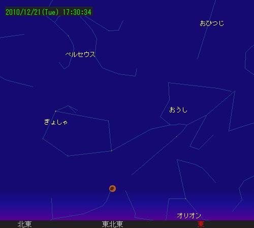 2010 12 21 皆既月食星図2