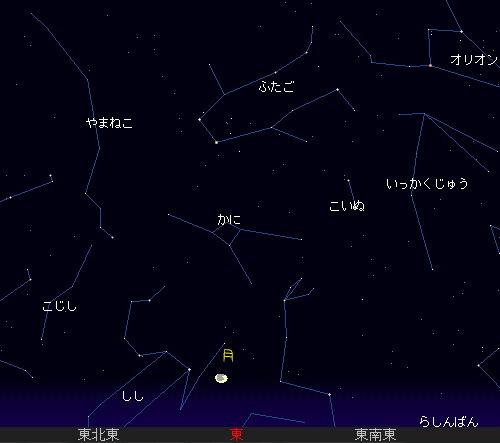 2010 12 25 クリスマスの夜は...星図
