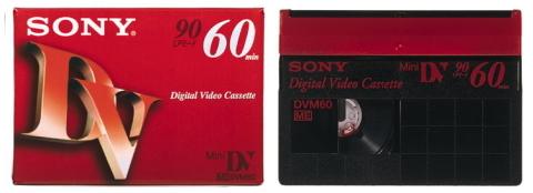 Mini DVテープ