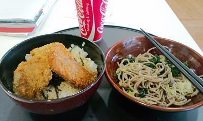 タレカツ丼長岡