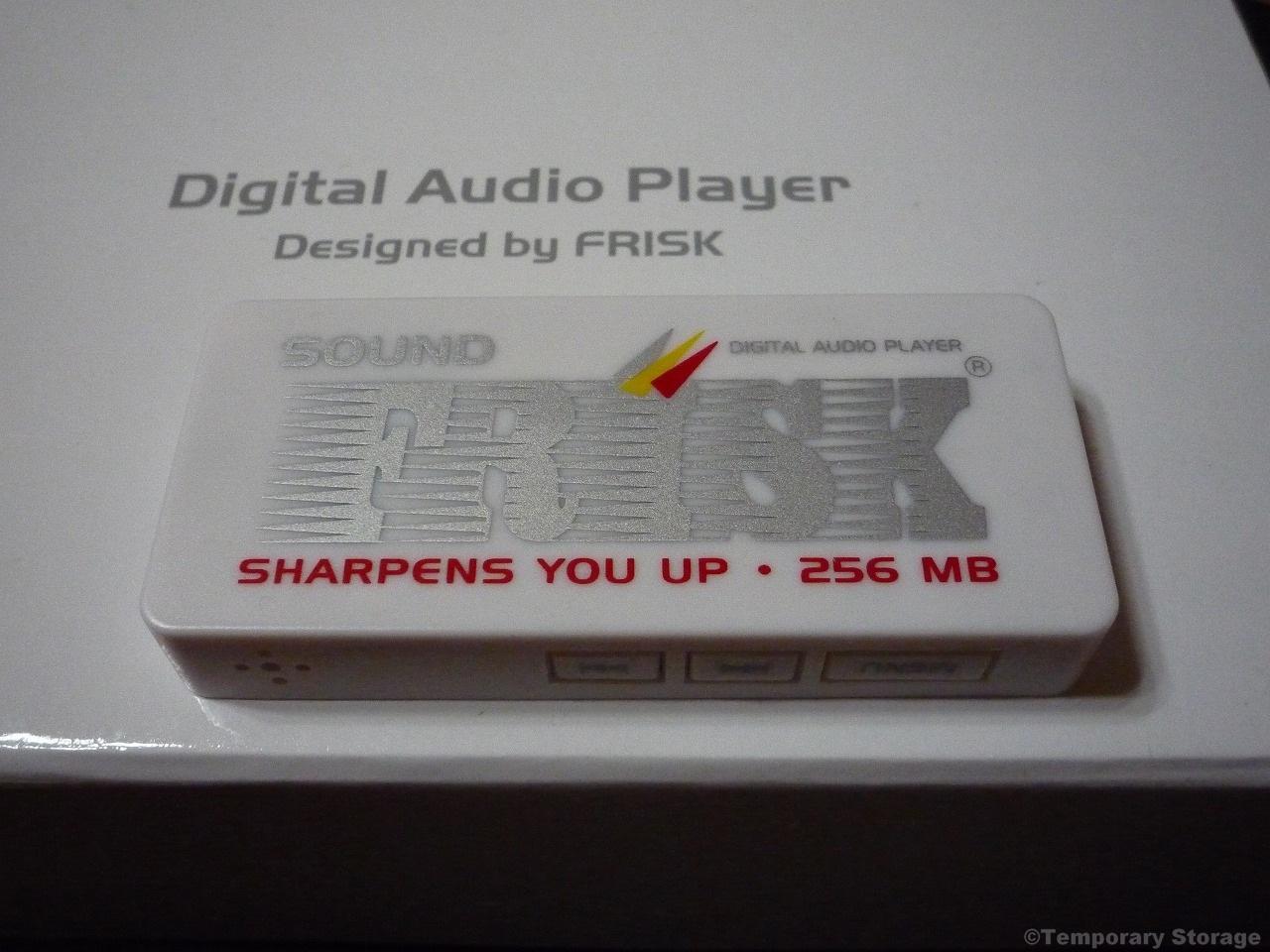 フリスクMP3プレイヤー SOUND FRISK