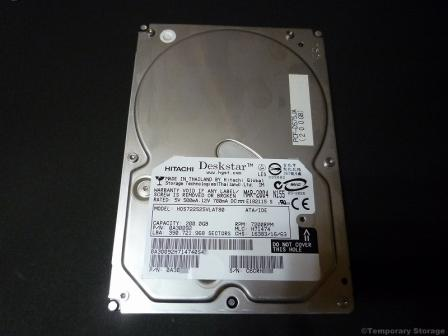 HDD HITACHI HGST HDS722525VLAT80