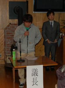 平成23年度作州津山商工会青年部通常総会(ウッディハウス加茂)