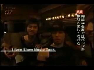 TVXQ I Love Show Music Tank ユチョンのミッション1_2(日本語).mpg_000189956