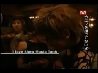 TVXQ I Love Show Music Tank ユチョンのミッション1_2(日本語).mpg_000285652
