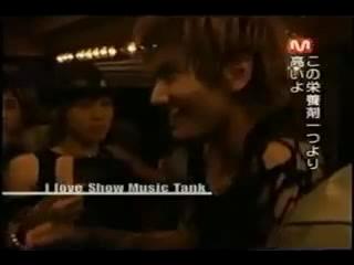 TVXQ I Love Show Music Tank ユチョンのミッション1_2(日本語).mpg_000305538