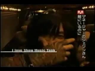 TVXQ I Love Show Music Tank ユチョンのミッション1_2(日本語).mpg_000332365