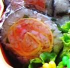 バラ巻き寿司
