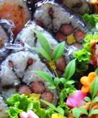 桜巻き寿司