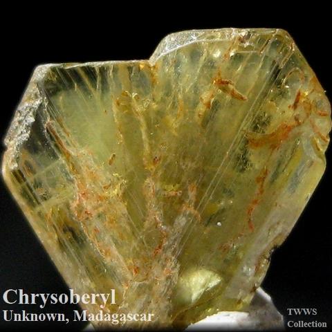 金緑石_マダガスカル1