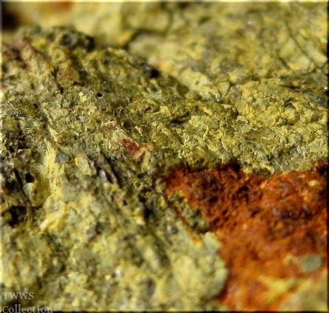 紅鉛鉱_ロシア1母岩