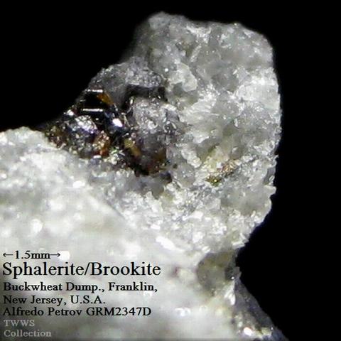 ペ2347D_閃亜鉛鉱&板チタン石