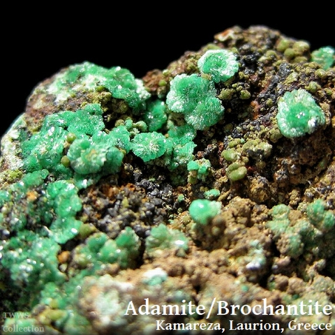アダム鉱&ブロシャン銅鉱_ギリシャ1