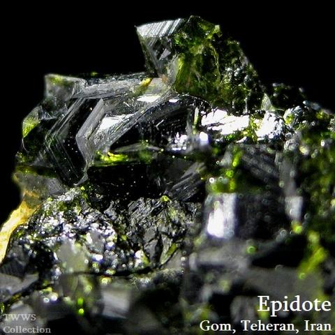 緑簾石_イラン1