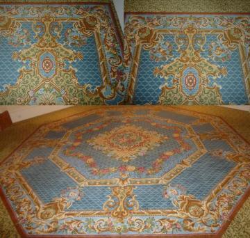 廊下のじゅうたん
