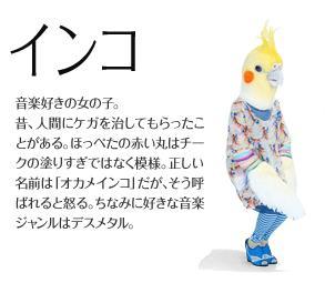 大阪ガス オカメインコ