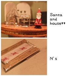 サンタ&おうち