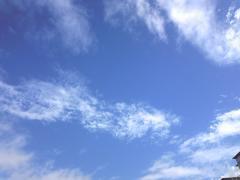 台風後の空2