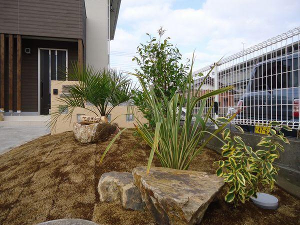 庭の完成1