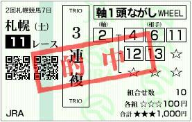 2010 札幌2歳S 1