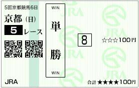 2010 10月24日 新馬 単勝