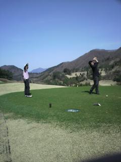 ゴルフ 青空 2