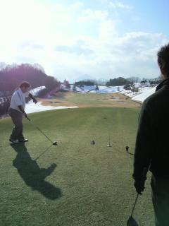 雪 ゴルフ4