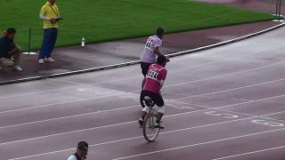 20111016 dad 400m 04