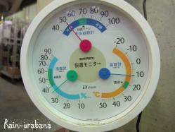 体感気温はもっと低く感じます (~~lll