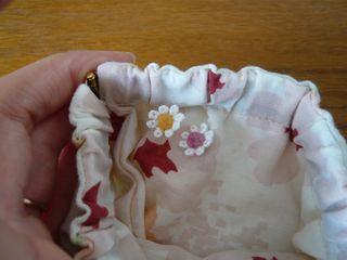 ばねポーチ・花冠の少女3