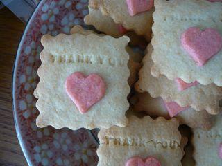 プチギフト・「THANK YOU」クッキー