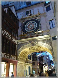 ルーアンの時計台