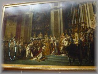 ナポレオンの戴冠式・ルーブル美術館