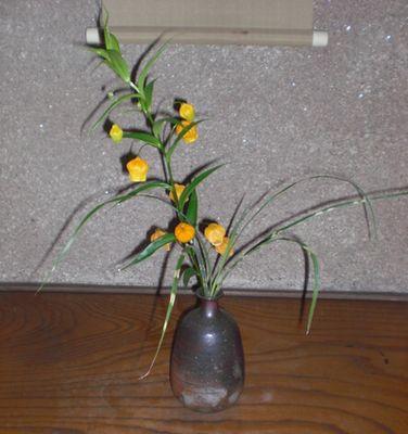 琵琶床の花