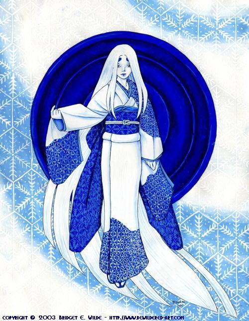Art Yuki Onna (Snow Woman)